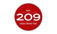 Bar 209 Logo